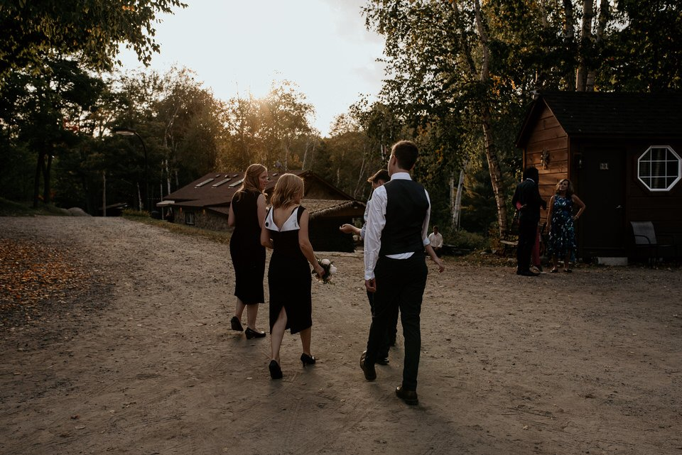 algonquin camp wedding